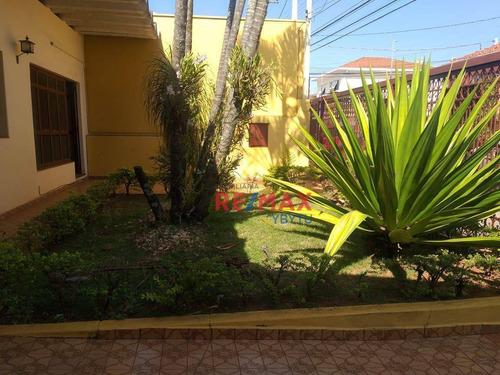 Imagem 1 de 22 de Casa Com 3 Dormitórios Para Alugar, 270 M² Por R$ 3.800,00/mês - Centro - Botucatu/sp - Ca0056