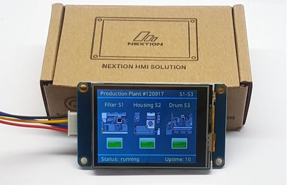 Tela Touch Para Arduino 2.4 Nextion 320 X 240 Pixels