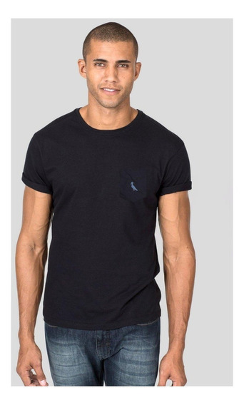 Camiseta Malha Variada Bolso Variado Reserva