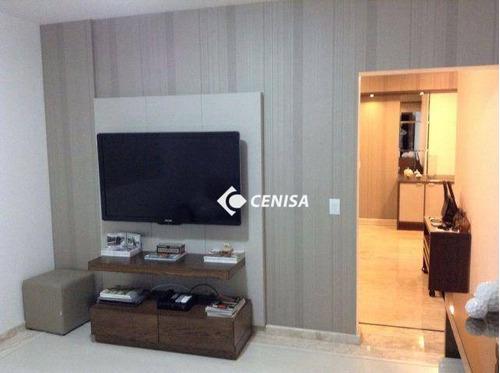 Apartamento Com 3 Dormitórios À Venda, 148 M² - Jardim Pau Preto - Indaiatuba/sp - Ap1249