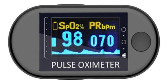 Oximetro Dedo Pulso Digital Pulsioximetro Oxigeno En Sangre