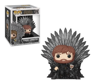 Funko Pop Tyrion Lannister On Throne 71 6¨- Game Of Thrones