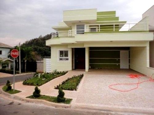 Lindo Sobrado Com 3 Suítes Condomínio Vivenda Das Cerejeiras Em Valinhos - Ca1160 - 31963491