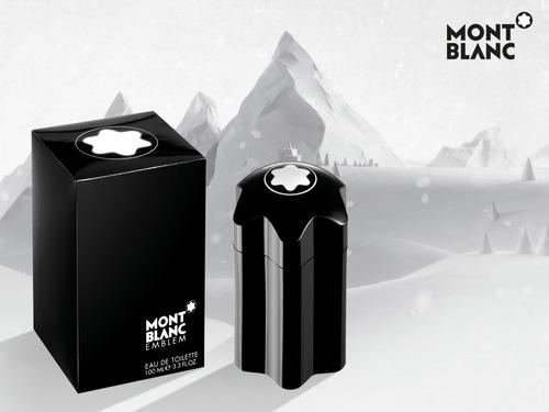 Perfume Montblanc Emblem Original Gara - mL a $1980