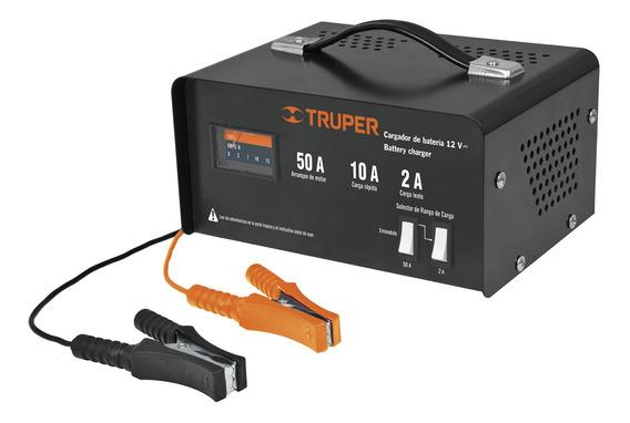 Cargador De Baterias 12v 50 Amp Y Arrancador Truper 13027