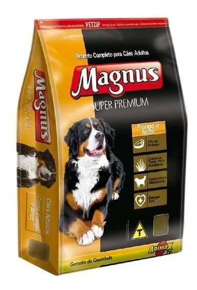 Ração Magnus Super Premium Frango E Arroz Cães Adultos15kg