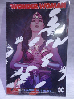 Wonder Woman Vol.7 Amazonas Bajo Ataque Dc Televisa Tpb