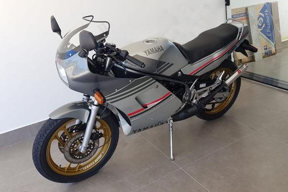 Yamaha Rd 350 1991 91 - Moto Antiga - Viuva Negra - Prata