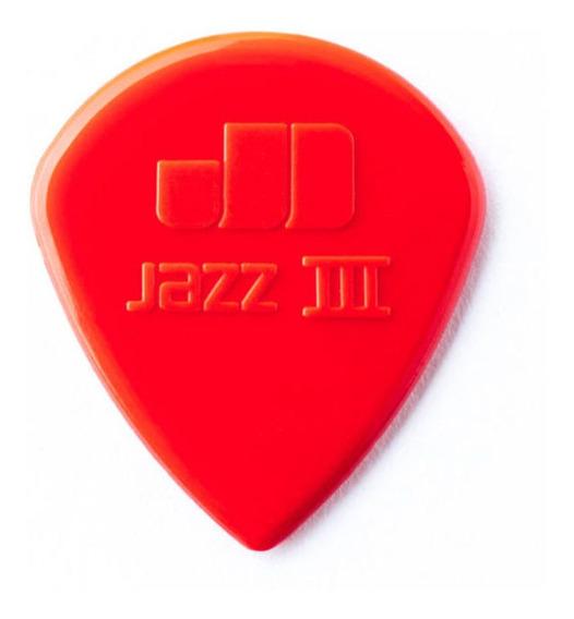 Palheta Nylon Jazz 3 Vermelha Dunlop 1827