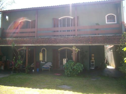 Imagem 1 de 14 de Casa Em Mongaguá Área Residencial 400 Metros Da Praia