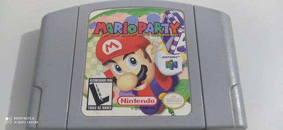 Mario Party Nintendo 64 N64 Original Gradiente Linda!