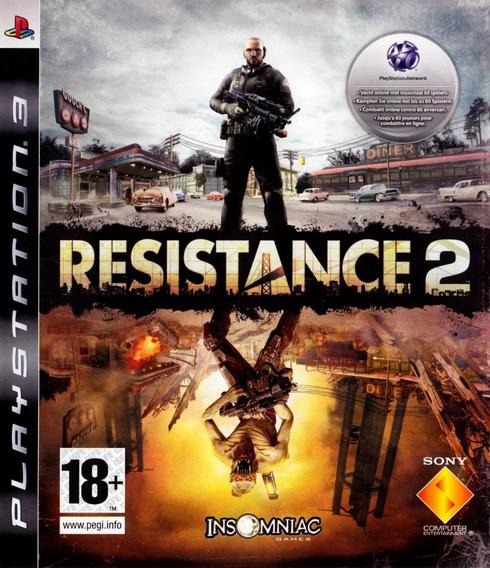 Jogo Resistance 2 Ps3 Playstation 3 Frete Grátis Mídia Físic