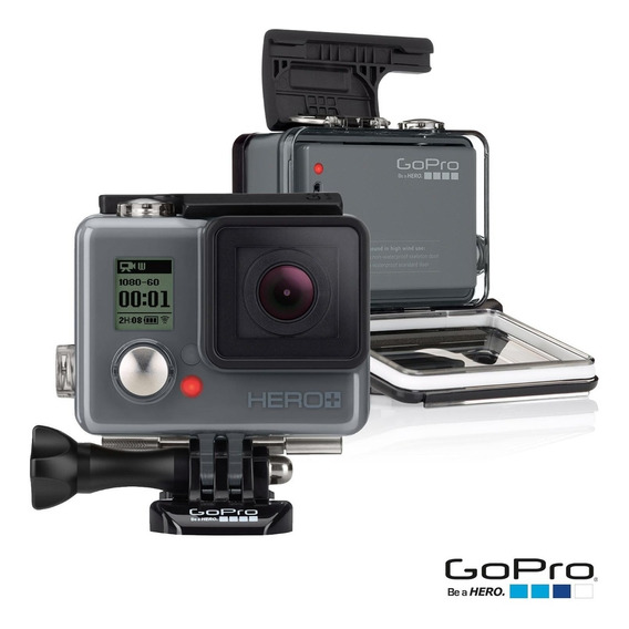 Gopro Hero+ Plus 8mp 1080 Wifi Bluetooth Cartão 16gb Incluso