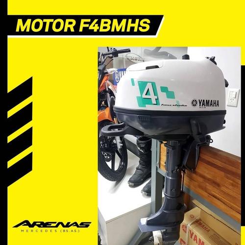 Motor Yamaha 4hp 4 Tiempos. 0hs