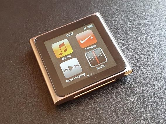 Apple iPod Nano 6a Sexta Geração 8gb Grafite Touch Rádio 6th