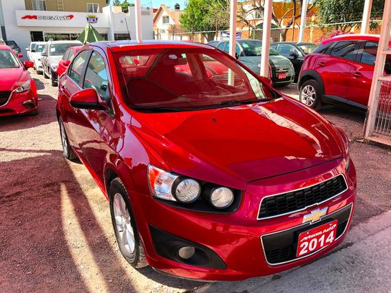 Chevrolet Sonic 1.6l Lt Tm5 2014 Credito Recibo Financiamien