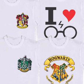 Camisetas Do Harry Potter | Sonserina | Grifinoria Lufa Lufa