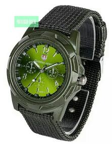 Relógio De Pulso Estilo Militar Gemius Army