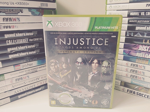 Injustice - God Among Us - Ultimate Edition - Xbox 360
