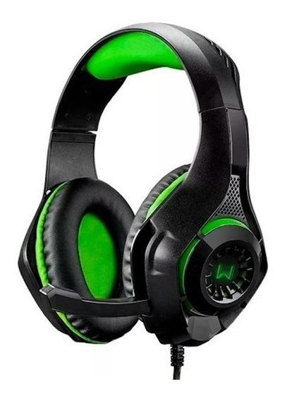 Fone De Ouvido Headset Gamer Warrior Xbox One Ps4 Pc Celular