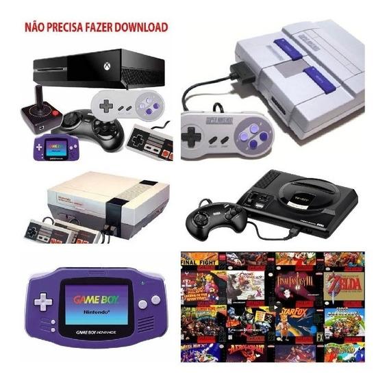Emulador Para Xbox One Nintendo, Mega Drive, Nes