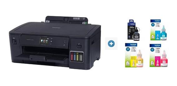 Impressora Brother Ecotank A3 Hl-t4000w + Kit Tinta Extra