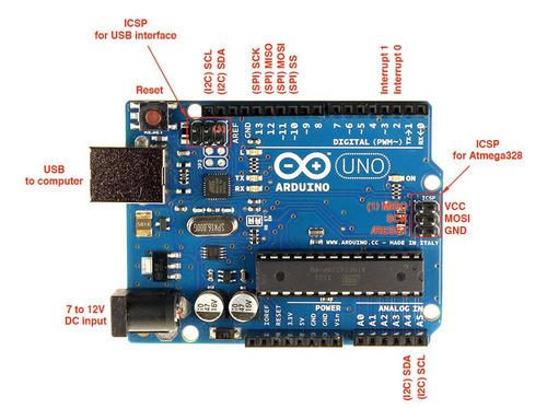 Imagem 1 de 6 de Arduino - Desenvolvimento De Projetos