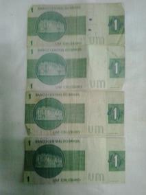Dinheiro Antigo - Nota De 1 Cruzeiro - Cedulas Antigas