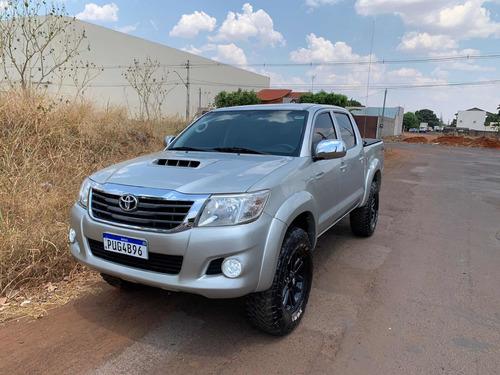 Imagem 1 de 15 de Toyota Hilux 2014 3.0 Sr Cab. Dupla 4x4 Aut. 4p