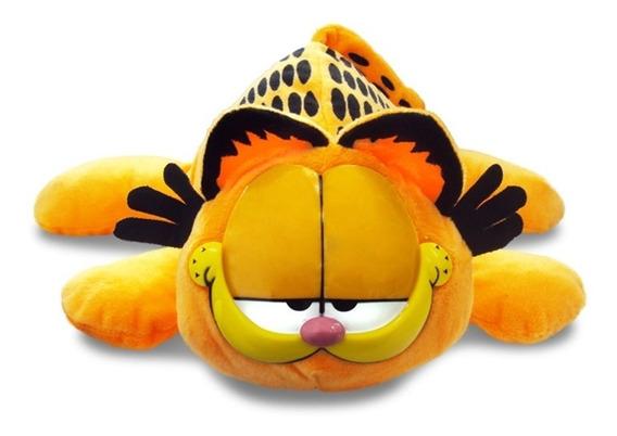 Pelúcia Gato Garfield Deitado Médio Bbr