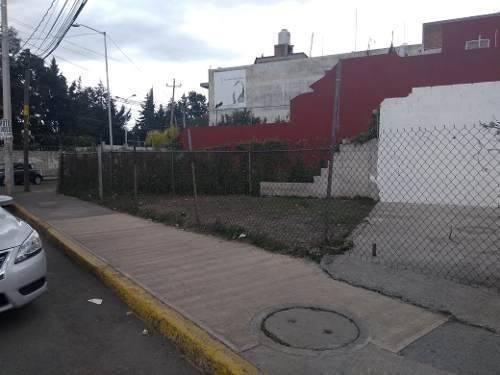 Terreno En Renta En Esquina Atrás De La Capu Puebla