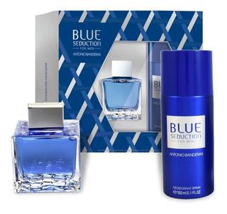 Perfume Hombre Blue Seduction Antonio Banderas 100ml + Desodorante