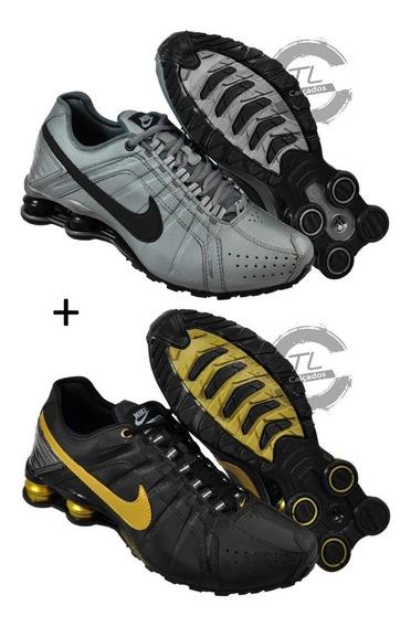 Tênis Nike Sxhox Junior 4 Molas Masculino Promoção Kit 2 Par