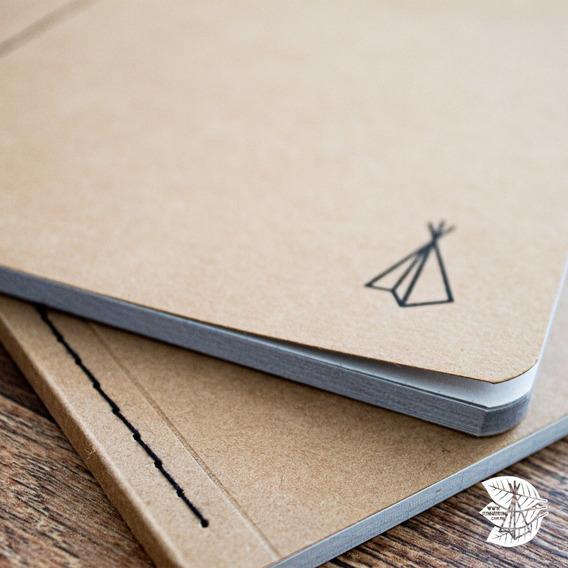 Diaroka Papel Kraft (bullet Journal, Sketchbook, Caderno)