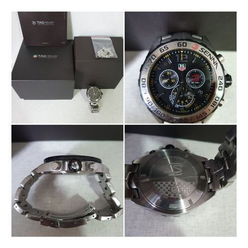 Relógio Original Tag Heuer F1, Edição Especial Ayrton Senna