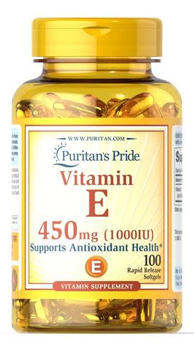 Vitamina E 1000 Iu Sofgels - Unidad a $490