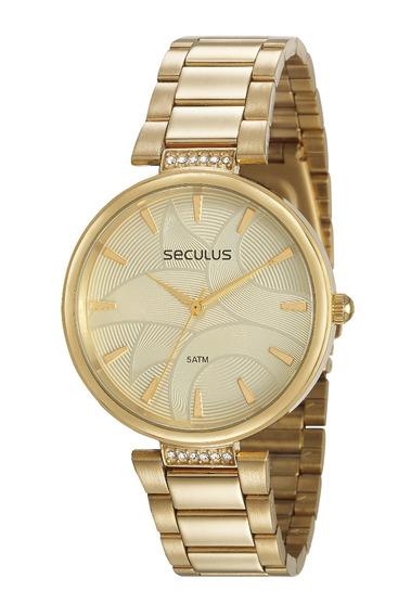Relógio Seculus Feminino 77010lpsvda1