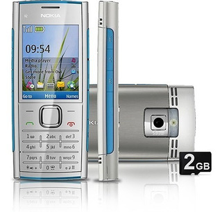 Nokia X2-00 Câmera 5mp Pequeno, Leve Perfeito Para Corridas