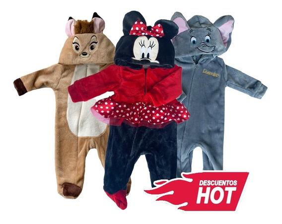 Kit 3 Mamelucos Disney Dumbo, Minnie, Bambi A Precio De 2