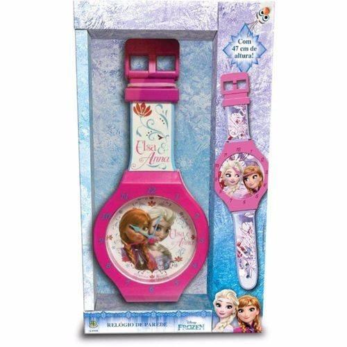 Relogio De Parede Frozen Disney 47 Cms Dtc 3795
