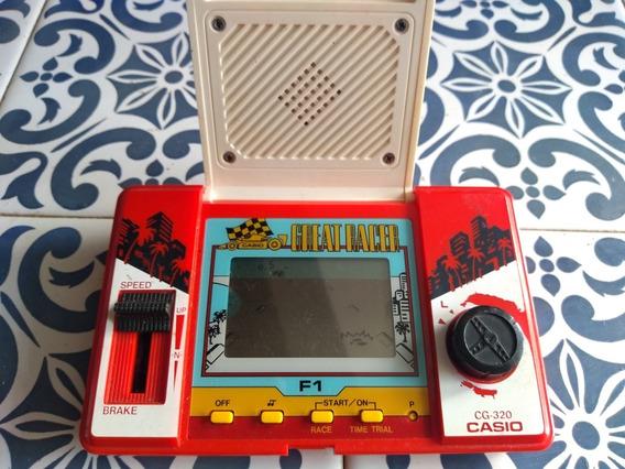 Mini Game Casio Great Racer Cg-320. De 1984