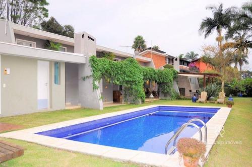 Imagem 1 de 30 de Casa Com 7 Dormitórios À Venda, 442 M² Por R$ 2.500.000,00 - Granja Viana - Cotia/sp - Ca1954