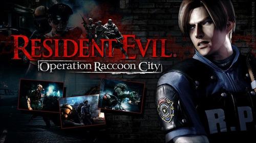 Resident Evil Operation Raccoon City + Dlc - Pc Español