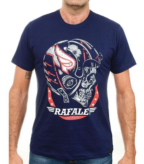 Camiseta Motocilcista Militar Caveira Rafale Raids
