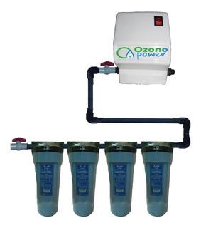 Planta Ozono Ind Mejorada Llenado Botellon 400 Litros / Hora