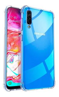 Funda Samsung A30s Anti Golpes + Vidrio Templado