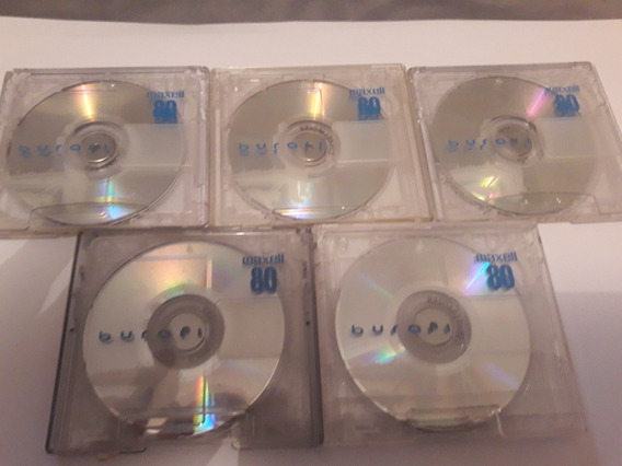 Mini Discs Md Usados Coloridos