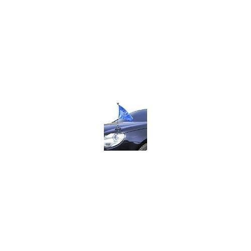 Magnetic Car Flag Pole Diplomat-1-cromo Naciones Unidas (onu
