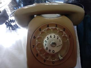 Telefone Disco Ericsson Antigo Anos 80