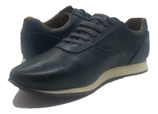 Zapato De Moda 100% Piel Para Hombre Urban Access 5702